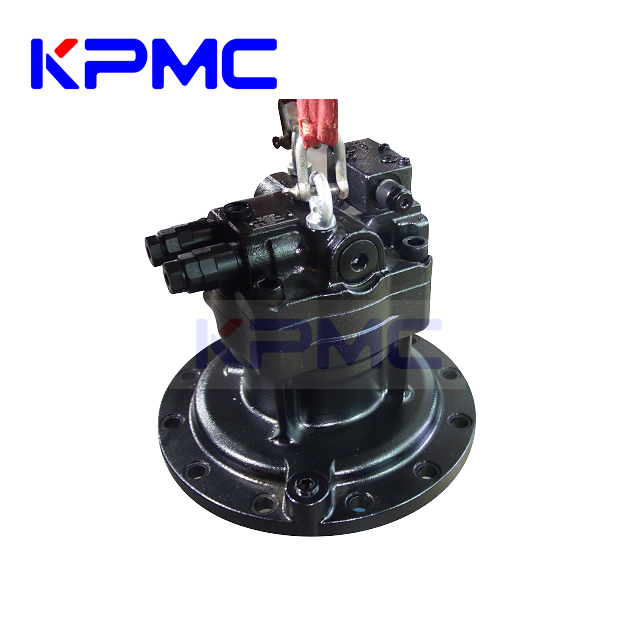 Swing Device Swing Motor with Gearbox for Komatsu Hitachi Caterpillar Kobelco Hyundai Volvo Excavator | KPMC Hydraulic